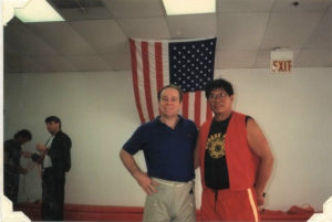Mr. Shoffit with GrandMaster Remy Presas, (10th Dan)